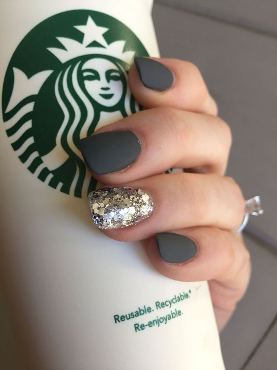 50 Elegant Squoval Nail Art Design Ideas