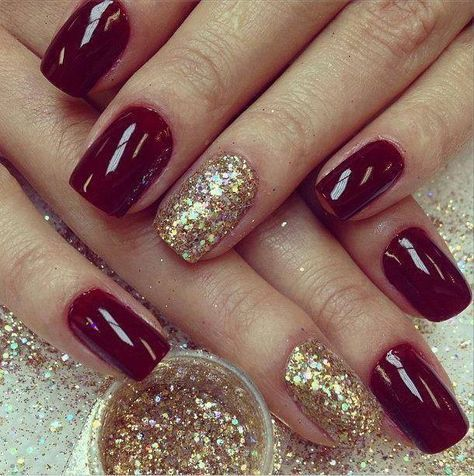 58 elegant maroon nail design ideas  page 43  tiger feng