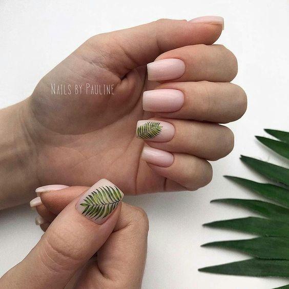54 Tropical Nail Art Designs For Summer