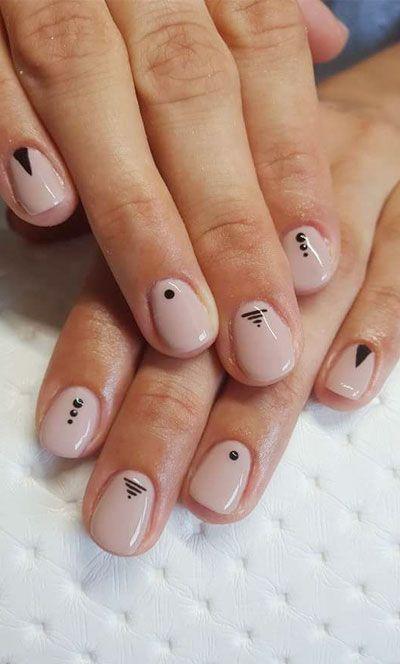 64 Classy Minimalist Nail Art Designs You'll Love