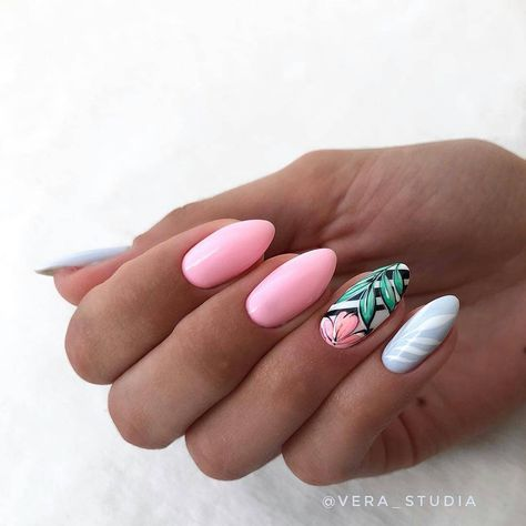 70 Perfect Summer Nails Art Designs and Ideas