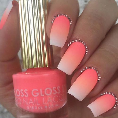 50 Gorgeous Ombre Matte Nail Designs You Will Love