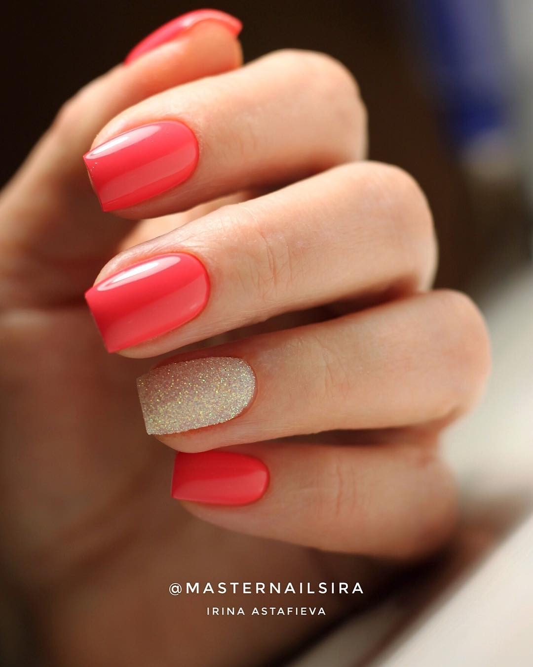 69 Lovely Pink Nail Art Designs