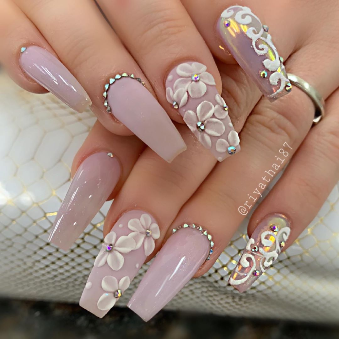 65 Pretty 3d Flower Nail Art Designs Page 40 Tiger Feng