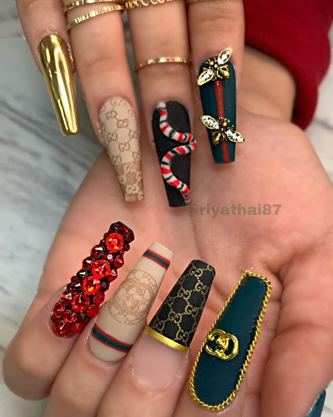 53 Pretty and Popular Chrome Nail Art Designs