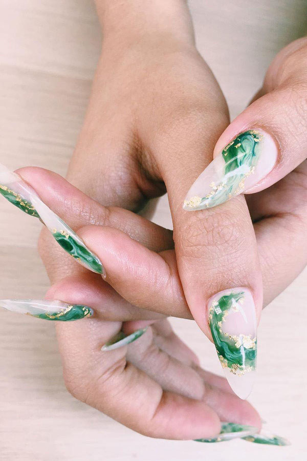 50 Gorgeous Jade Nail Designs You Will love