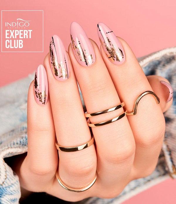 60 Pretty Foil Nail Art Designs