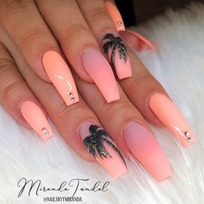 59 Amazing Palm Tree Nail Designs For Summer
