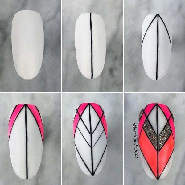 45 Nail Designs Step By Step