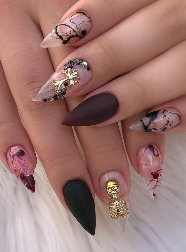 60 Clever Halloween Nail Designs And Ideas Page 55 Tiger Feng