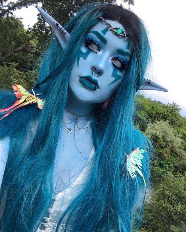 35 Amazing Halloween Makeup Looks You'll Love