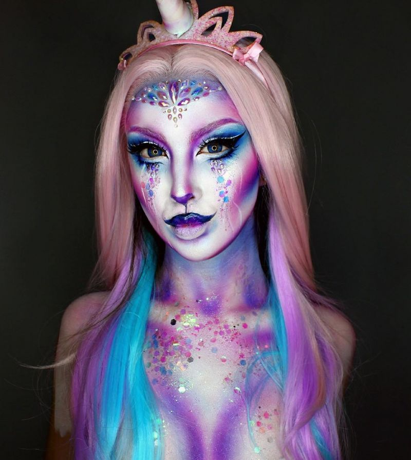 35 Amazing Halloween Makeup Looks You'll Love