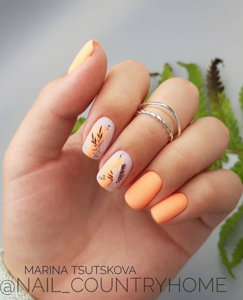 55 Trendy Fall Nail Art Designs to Try Right Now