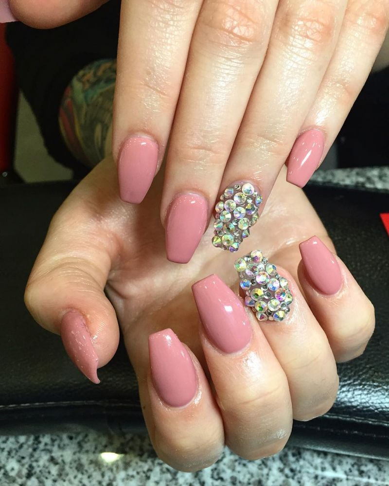42 Classic Rose Pink Nails You Will Love to Try