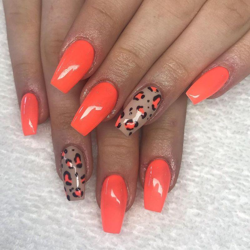 50 Trendy Leopard Print Nail Art Designs You Will Love