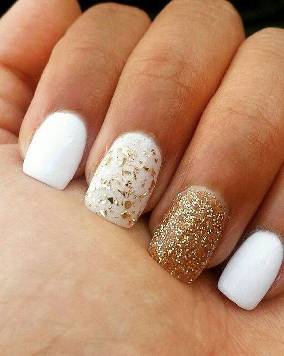 50 Trendy White Christmas Nails To Fall In Love With \u2013 Page