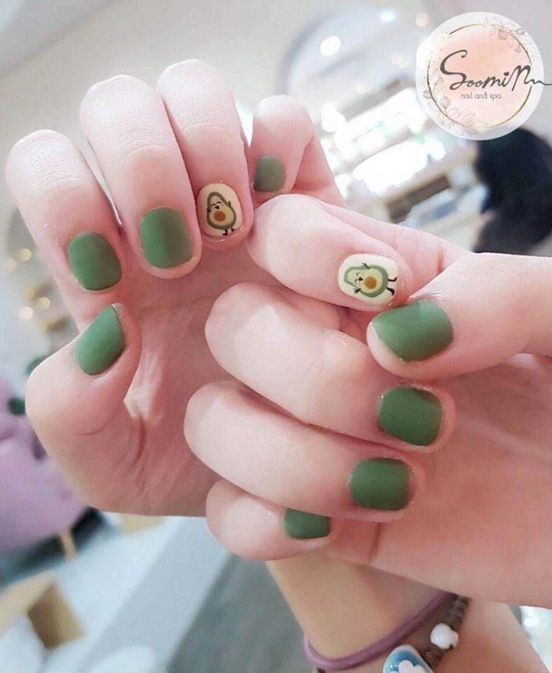 50 Elegant Korean Nail Arts You'll Love to Try