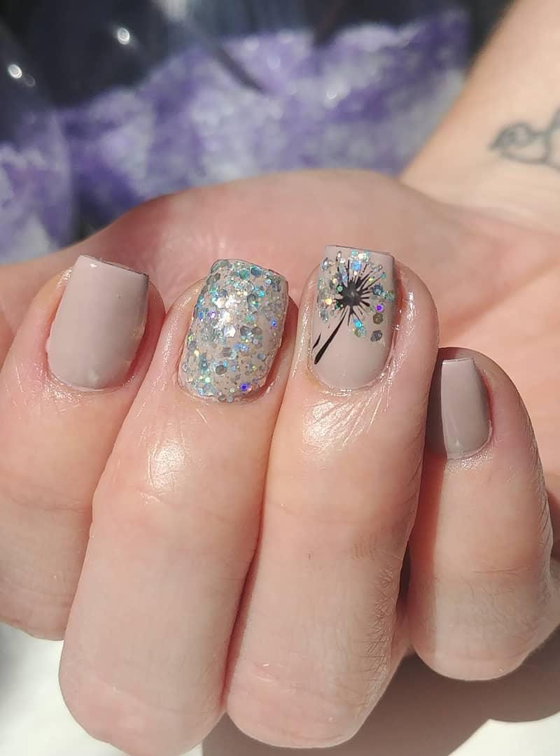55 Trendy Dandelion Nail Art Designs You Will Love