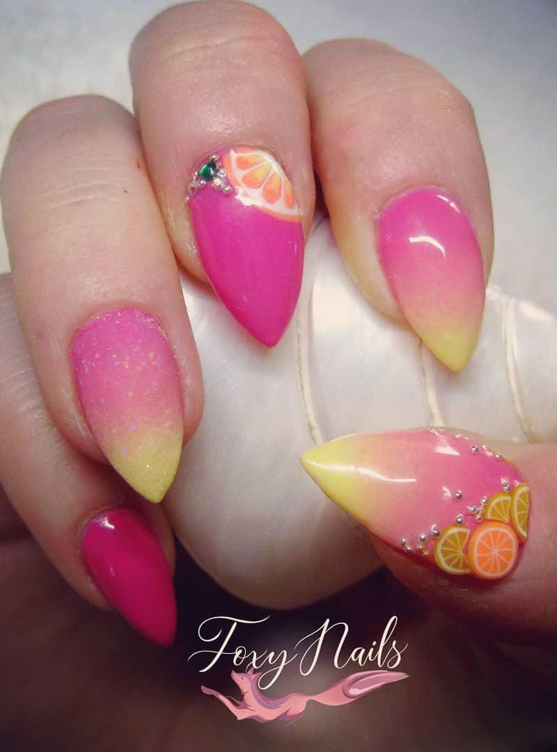 55 Trendy Lemon Nail Art Designs To Fall In Love With