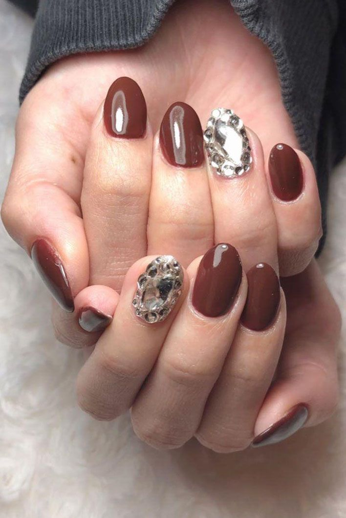 55 Sweet Chocolate Nail Art Designs Make You Fall In Love