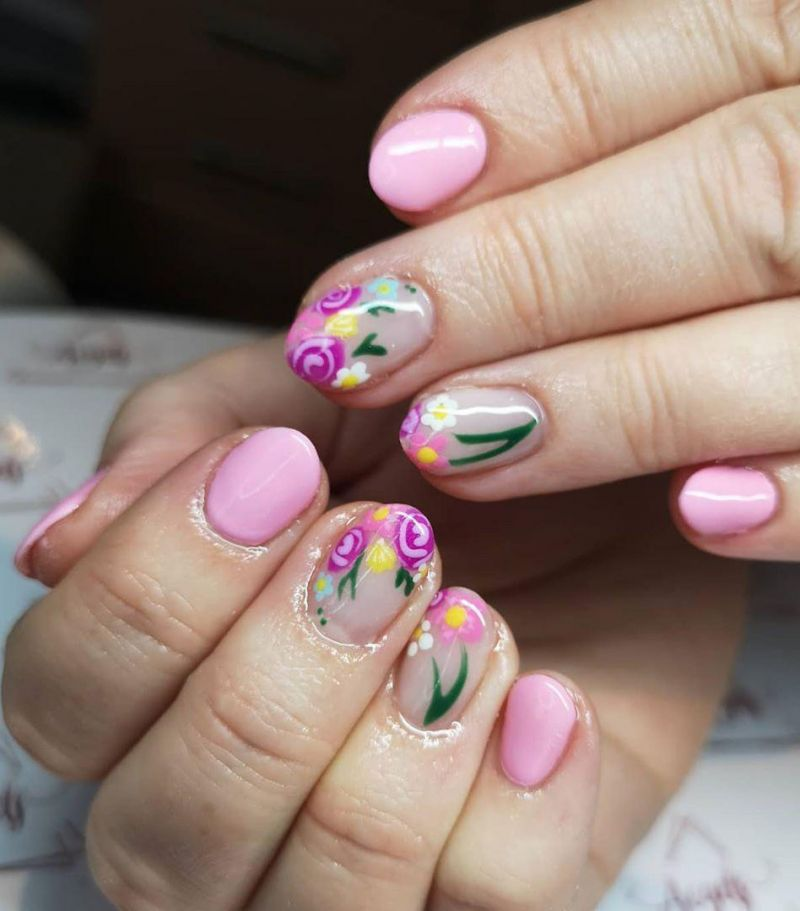 55 Pretty Spring Nail Art Designs You Will Love