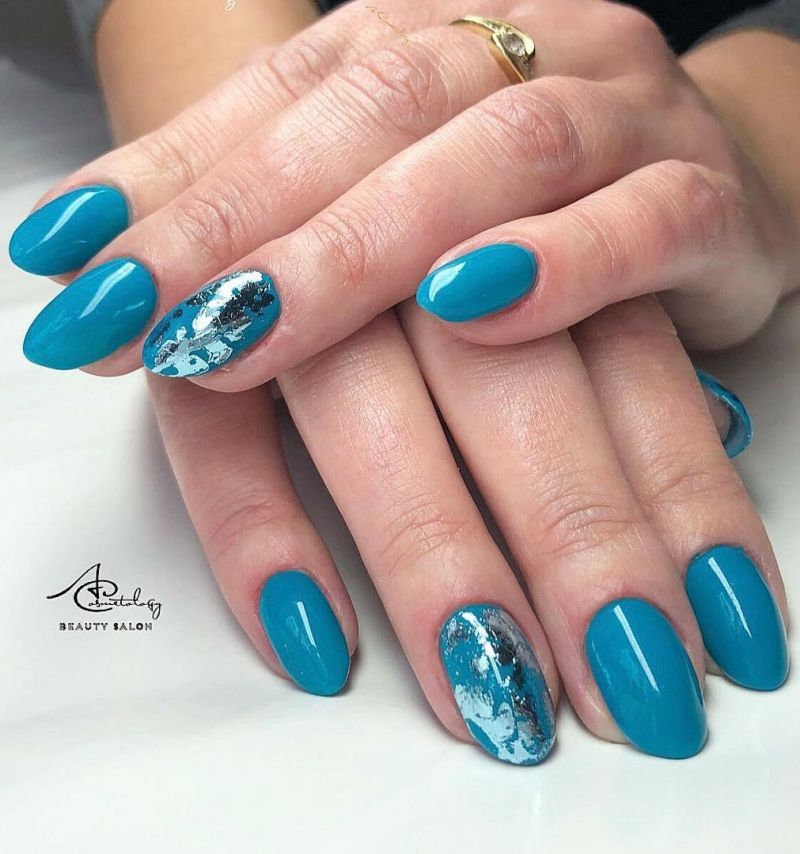 36 Fresh Turquoise Nails for Spring You Will Love
