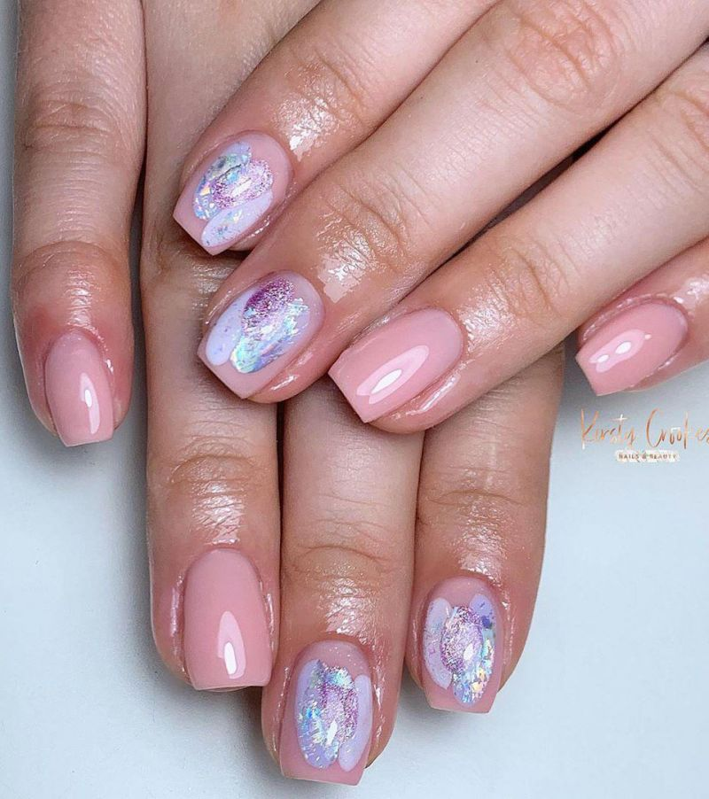 50 Creative Abstract Nail Art Designs Improve Your Taste