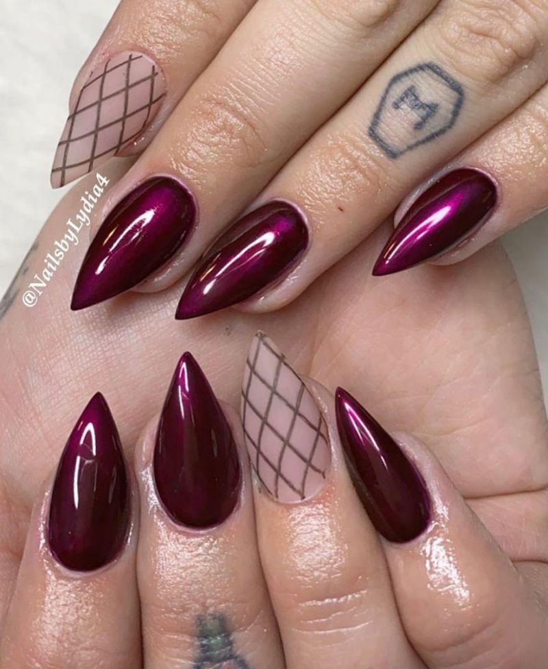 40 Trendy Fishnet Nails to Fall In Love With