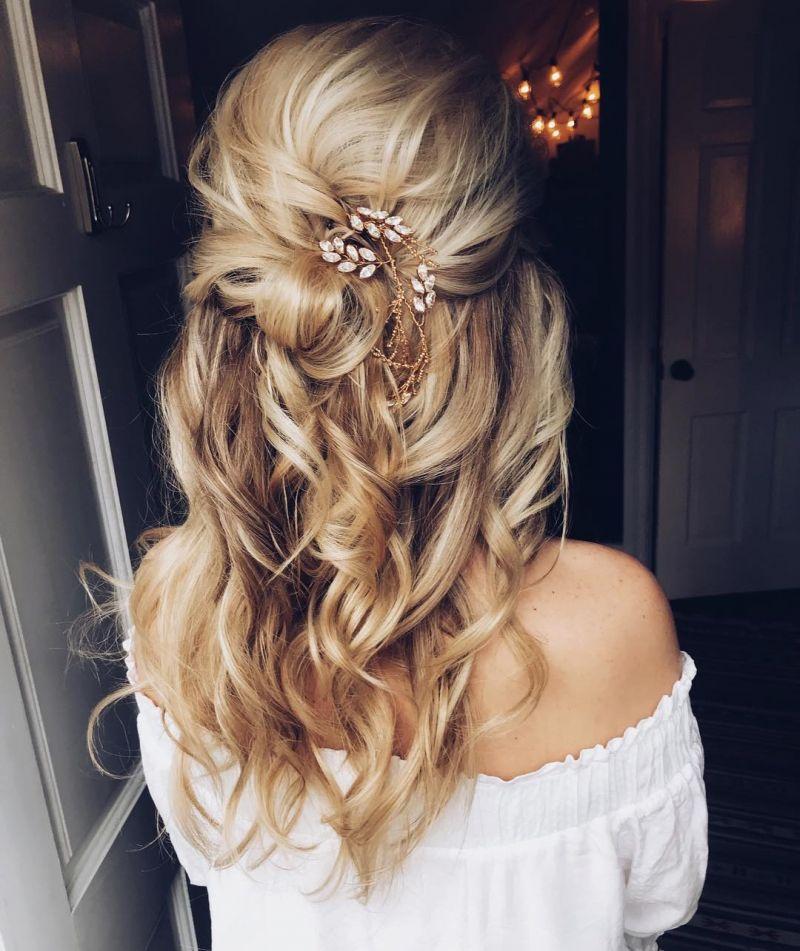 50 Trendy Half Up Half Down Hairstyles You Must Love