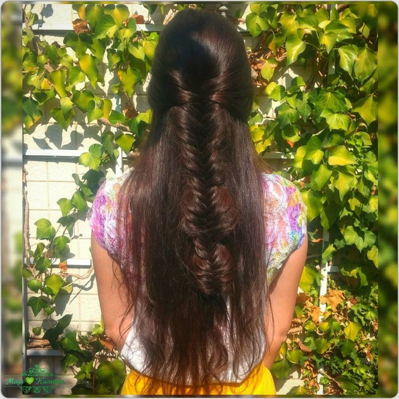 35 Trendy Half Up Fishtail Hairstyles You Must Try