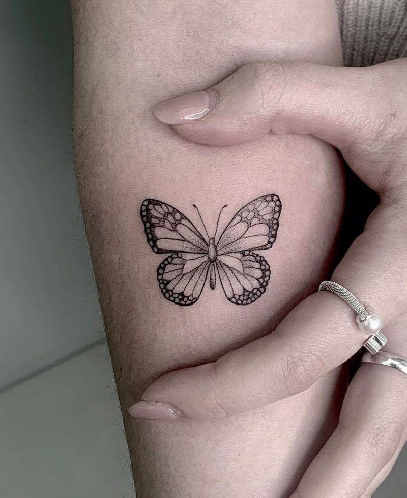 55 Adorable Butterfly Tattoos You Can Copy