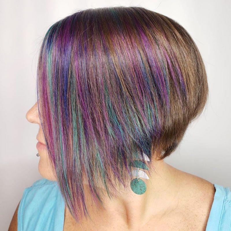 50 Pretty Asymmetrical Bob Hairstyles You Can Copy