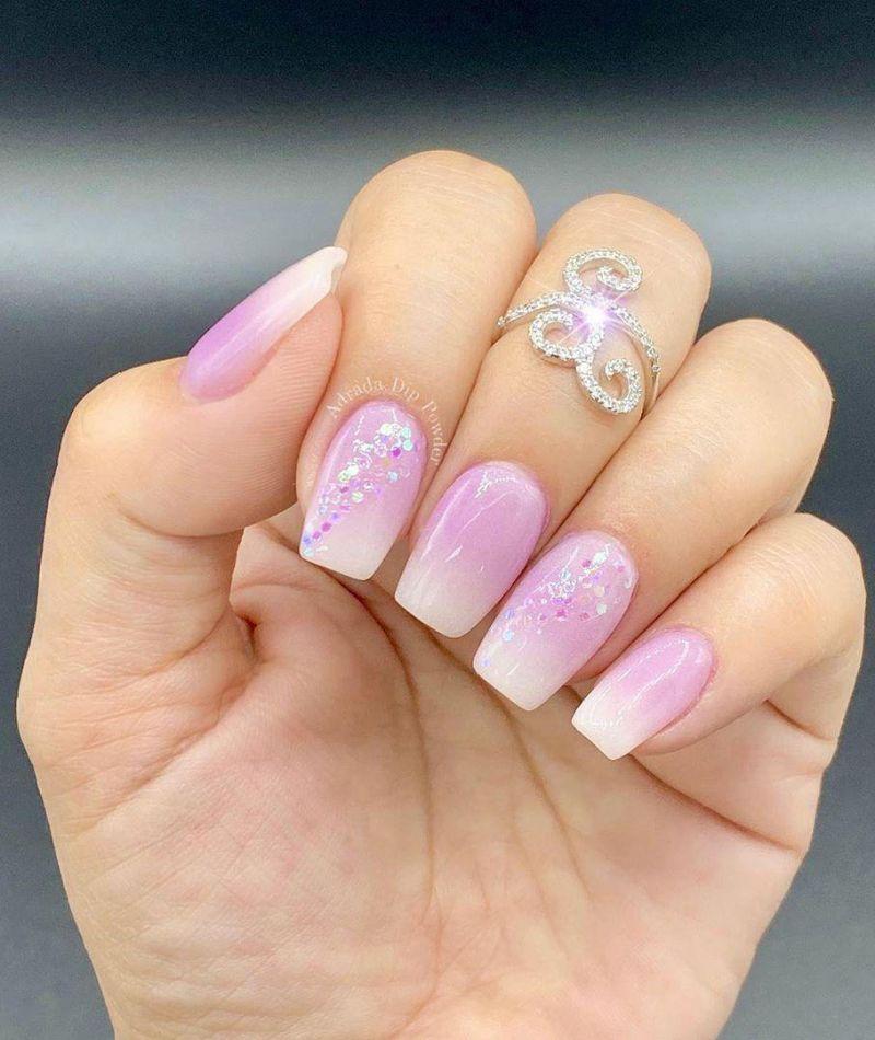 30 Pretty Purple Ombre Nails You Will Love