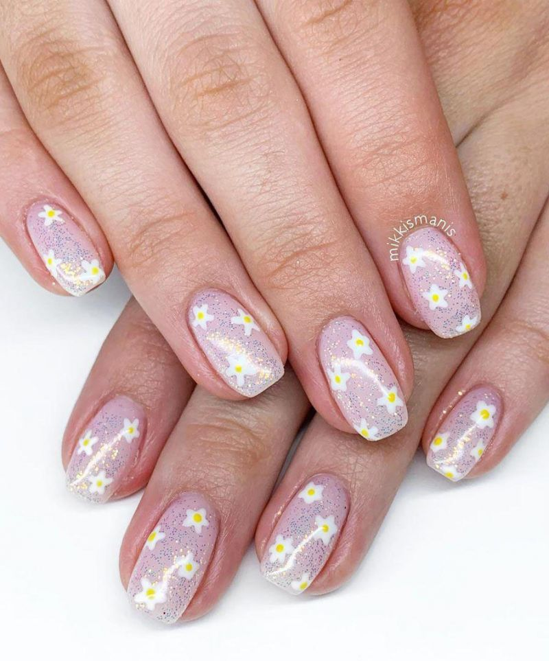 30 Floral Nail Art Designs for Summer You Can Copy