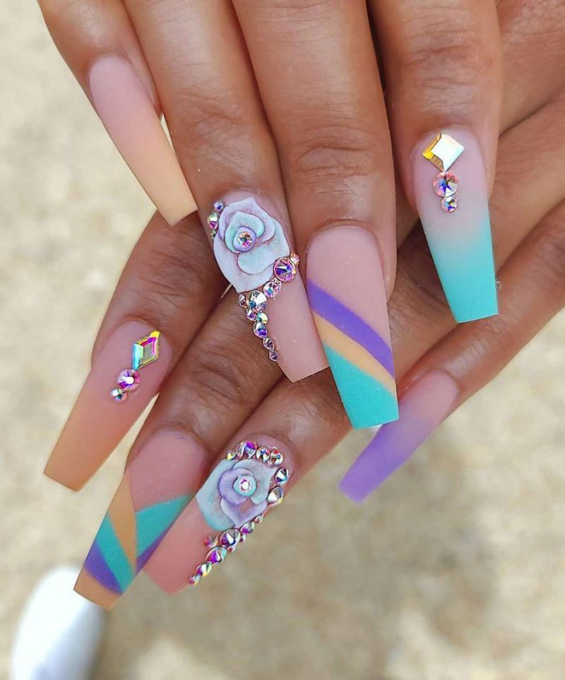 30 Gorgeous Matte Nails for Summer You Must Try