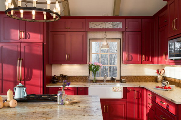 83 Cool Kitchen Cabinet Paint Color