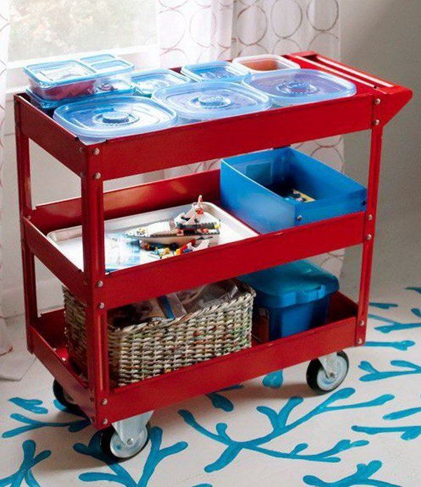 30 creative storage ideas to organize kids' room – page 11 – tiger feng