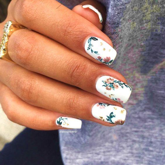 56 Elegant Spring Floral Nail Art Designs Page 17 Tiger Feng